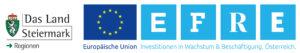 Logo EFRE und Land Steiermark